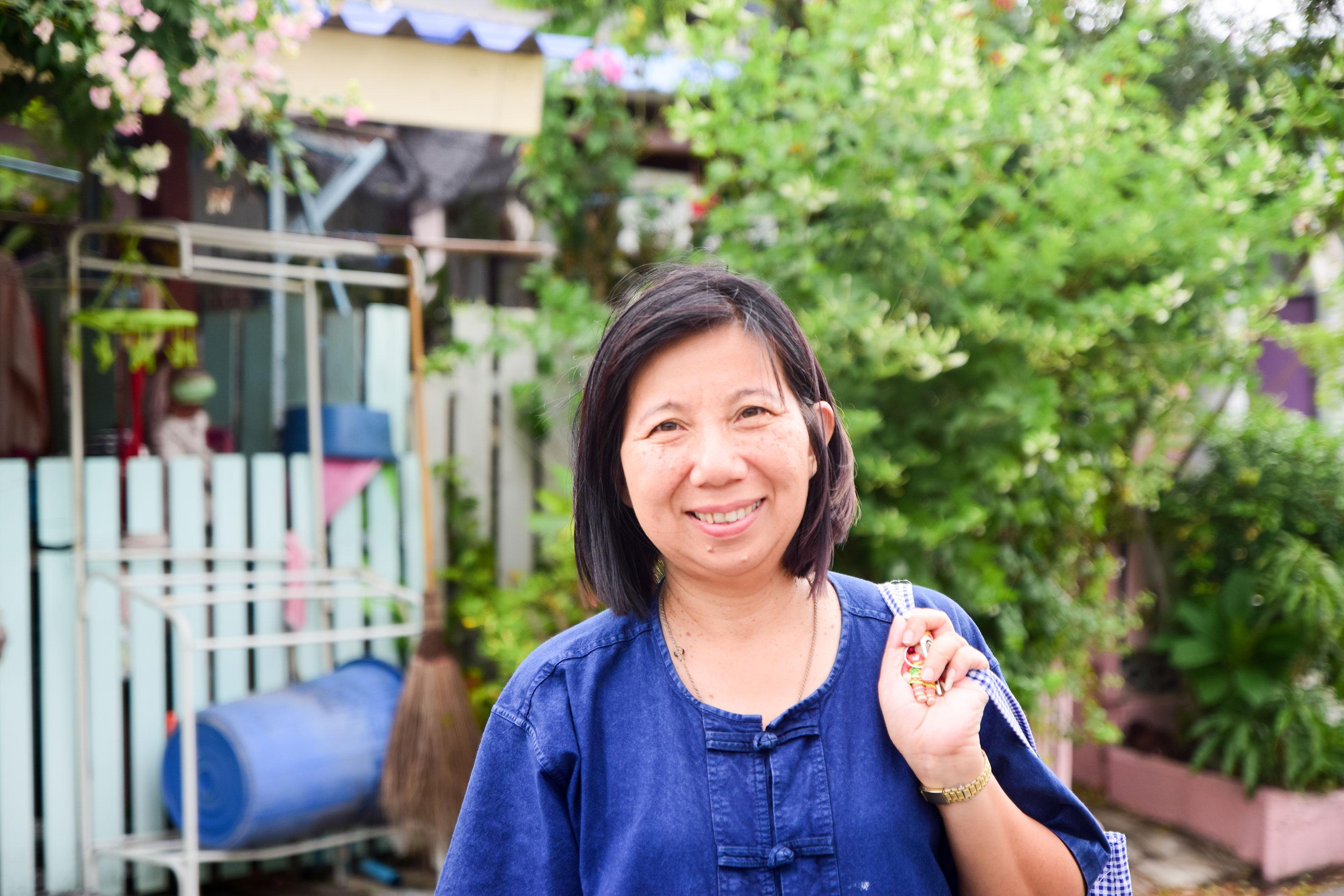 บ้านมั่นคงชุมชนกาเลี้ยงลูก