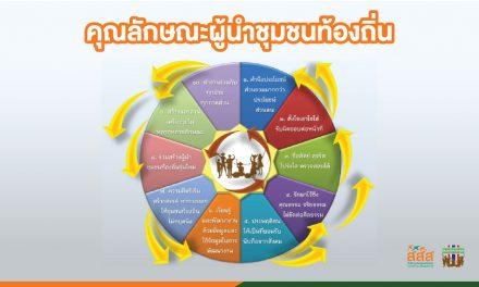 10 คุณลักษณะสำคัญ ของผู้นำชุมชนท้องถิ่น