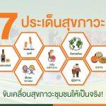 จับ 7 ประเด็นสุขภาวะ ขับเคลื่อนสุขภาวะชุมชนให้เป็นจริง!