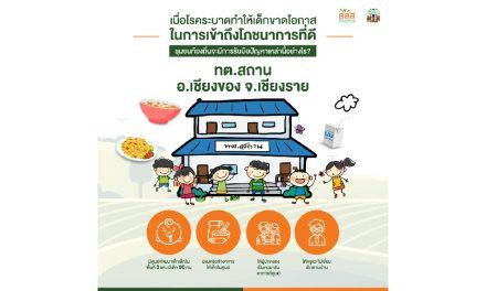 'ทต.สถาน' ชูแนวทาง สร้างโภชนาการที่ดีให้เด็ก แม้ในช่วงโควิด-19